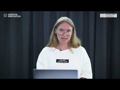 """""""How are drones making a difference today?"""" by Helena Samsioe, GLOBHE, at Umeå Tech Arena, June 2"""