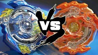 BATTLE: Victory Valkyrie .B.V VS Rising Ragnaruk .G.R - Beyblade Burst!