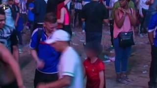 Euro 2016 : un petit fan du Portugal console un supporter français en larmes