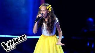 """Gabi Borys – """"Shake It Off"""" – Przesłuchania w ciemno – The Voice Kids Poland"""