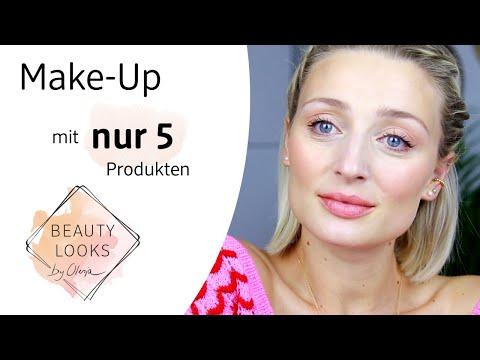 Make-Up mit NUR 5 Produkten!