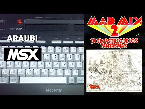 Mad Mix 2 (Topo Soft, 1990) MSX [145] El Kiosko