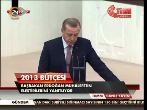 Başbakan Erdoğan.10 Aralık 2012 TBMM'nde Konuştu - 2.SON.