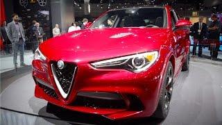 2018 Alfa Romeo Stelvio - 2016 LA Auto Show