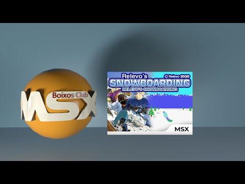 Relevo's Snowboarding para MSX