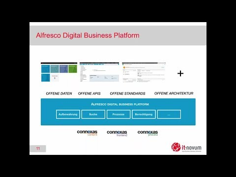 Unternehmen müssen ihre Geschäftsprozesse optimieren und kontinuierlich auf sich ändernde Marktbedürfnisse und Unternehmensziele anpassen. Eine große Herausforderung: Geschäftsabläufe unterbrechungsfrei abzubilden, auch wenn sich diese über unterschiedliche IT-Applikationen erstrecken. Um lose Prozessenden zusammenführen, bieten sich flexible Low-Code-Plattformen zur Digitalisierung von Geschäftsprozessen an. Alfresco Process Services ist eine solche Plattform. Die Plattform folgt einerseits technischen Standards und fungiert andererseits als Bindeglied zwischen Arbeitsprozess und IT-Welt.  Haben Sie Fragen zu Alfresco?  Dann sprechen Sie mich an.  Brian Kurbjuhn  it-novum GmbH Edelzeller Str. 44 36043 Fulda Tel: +49 (0)661/103 636 Fax: +49 (0)661/103 597 Oder schreiben Sie mir eine E-Mail https://it-novum.com/kontakt/kontaktformular-enterprise-information-management/ https://it-novum.com/enterprise-information-management/sap-integration/