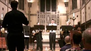 CRIMSON for Brass, Timpani, Percussion and optional Organ by David P. Sartor