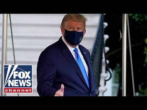 Eric Trump on his father's battle with coronavirus