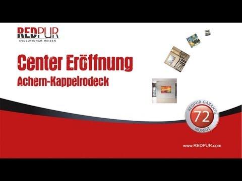 Eröffnung REDPUR Infrarotheizung VertriebsCenter Achern 15.02.2013