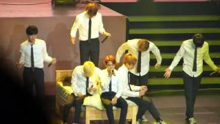 [Jimin Focus] BTS - Blanket Kick Live in Chile 150802