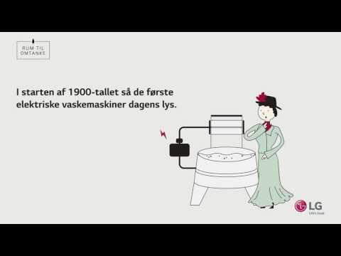 Vaskemaskinens historie