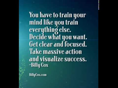 You Have To Train Your Mind - Billy Cox