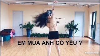 GÁI XINH MÚA BỤNG CỰC PHÊ / NHƯ PHƯƠNG BELLY DANCE