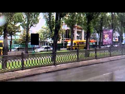 Fahrt mit einem Tourbus durch Kiew I