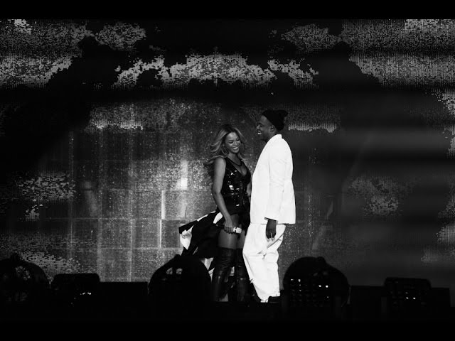 """Video de JAy Z y Beyoncé cantando en concierto """"Forever Young/ Houng"""""""