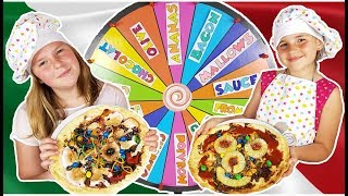 MYSTERY WHEEL OF PIZZA CHALLENGE - ROUE DE LA FORTUNE PIZZA CHALLENGE ! français may 2018