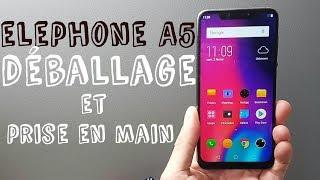 Vidéo-Test : Elephone A5 déballage et prise en main