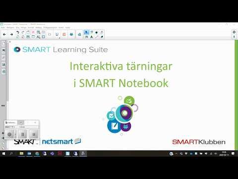 Interaktiva tärningar i SMART Notebook