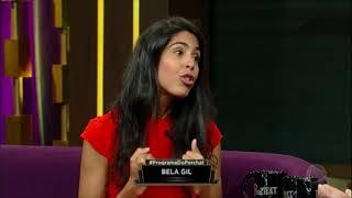 Bela Gil comenta que as pessoas reparam no que ela coloca em seu prato