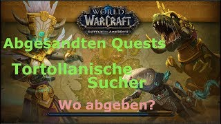 Tortollanische Sucher Quest World Of Warcraft
