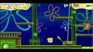 Spongebob's Game Dutchman's Dash Forth Try 2
