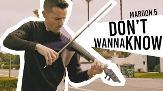 Maroon 5 - Don't Wanna Know (Violin Cover by Robert Mendoza) [Official Video]