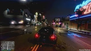 GTA 5 REALISTIC GRAPHICS Real Rain MOD