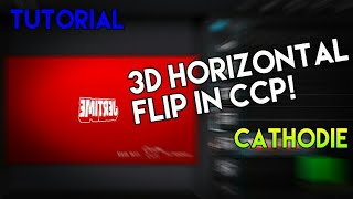 How To Do 3D Flip in Cute Cut/CCP | Tutorial by Cathodie
