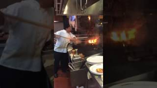 All wood fire grill restaurant life!