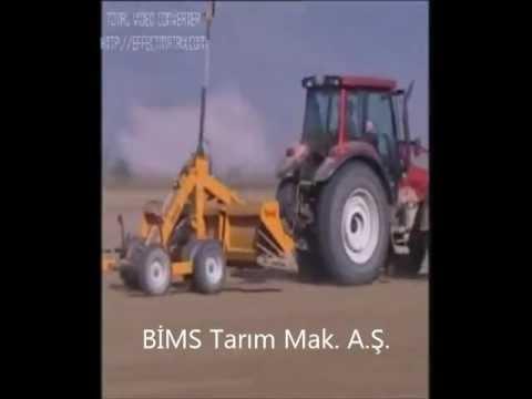 Lazerli Tesviye Küreği İLGİ Tarım BİMS Tarım Makineleri