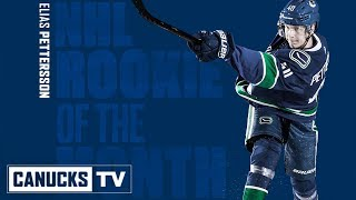 Elias Pettersson Named NHL Rookie of the Month (December)