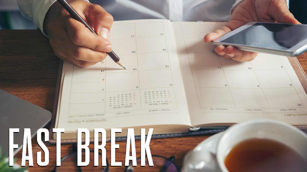 How to Add More Structure to Your Daily Agenda to Increase Productivity