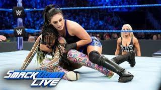 Naomi vs. Sonya Deville: SmackDown LIVE, Jan. 1, 2019