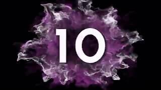 Intro Countdown Explosion HD | Hitung Mundur | #ZonaNyaman