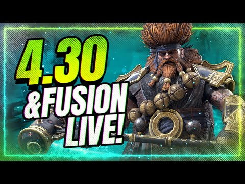 INSANE PATCH 4.30 is LIVE! Fusion has STARTED! | RAID Shadow Legends