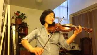 The Police - Every Breath You Take (Violin Cover by MJ Lee.)