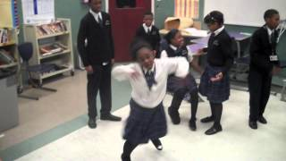 Classroom African Drum and Dance Circle