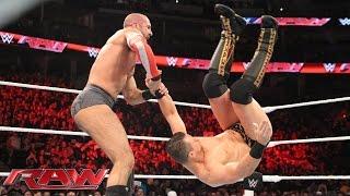 Cesaro vs. The Miz: Raw – 2. November 2015 width=