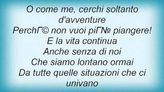 Laura Pausini - Anima Fragile Lyrics