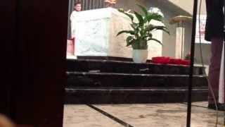 Adoro te, coro chiesa di San Paolo Ovada