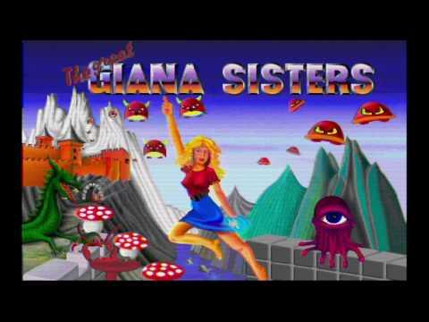 Amiga Game Intro: The Great Giana Sisters (Rainbow Arts,1988)