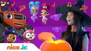 Halloween Lyric Music Video w/ PAW Patrol, Rusty Rivets, Shimmer & Shine & More! 🎃 | Nick Jr.