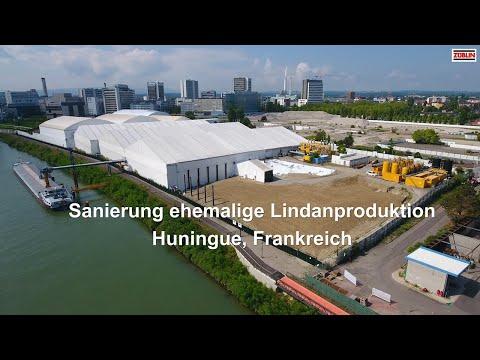 ZÜBLIN Umwelttechnik, Sanierung Huningue