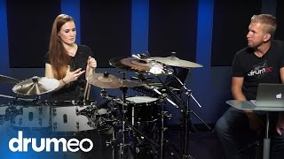Anika Nilles Quintuplet Groove - Drum Lesson (Drumeo)