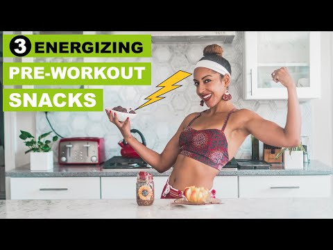 EASY PRE-WORKOUT SNACKS FOR ENERGY! | Vegan Recipes