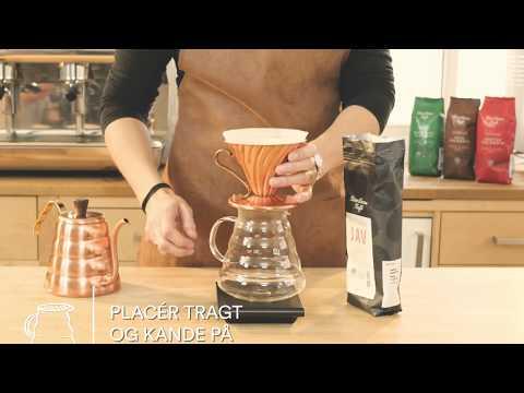 Sådan laver du den bedste kaffe på tragt!