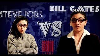 (ERB) Steve Jobs V.S Bill Gates - Lip Sync