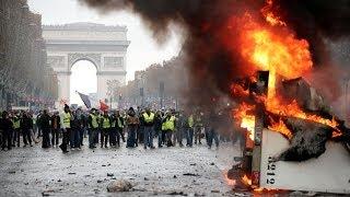 Gilets jaunes : Violences sur les Champs-Élysées
