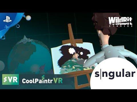 CoolPaintr VR – Launch Trailer | PS VR