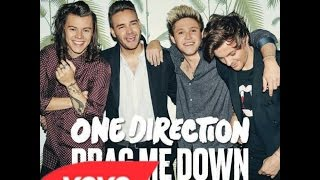 One Direction Drag Me Down Lyrics Oficial Español-Ingles HD
